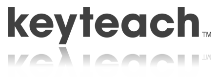 This is the Keyteach logo on the
